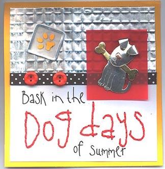 Dog Days Card