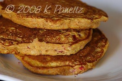 Pumpkin Cranberry Pancakes