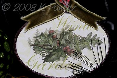 Ornament Winter Garden