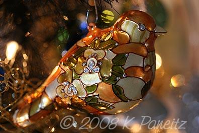 Ornament Cloisonne Bird