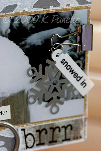 Snowed in tag