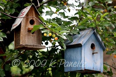 Garden Tour birdhouses