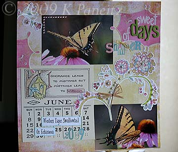 Sweet days Layout