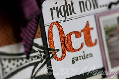 Garden by letter card6