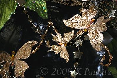 2009 Butterfly spray ornie
