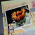 September Gardening by Letter Card