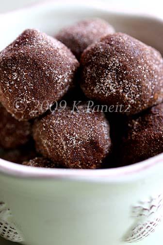 Cappuccino truffles