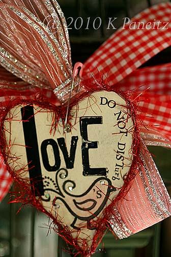 Valentine Birdcage