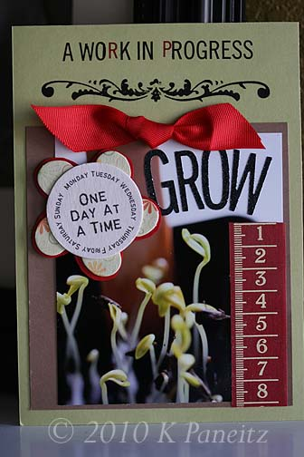 Grow Seeding Card