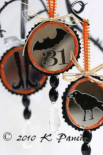 Halloween Mirror Ornaments4