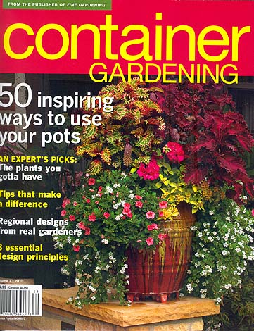 2010 Container Gardening Issue