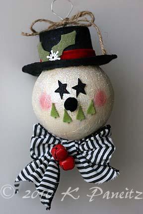 Snowman ornament1