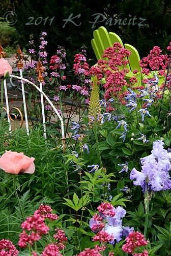 June Front garden