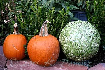 Pumpkins & Ball Deco