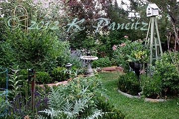 2012 June Back Garden