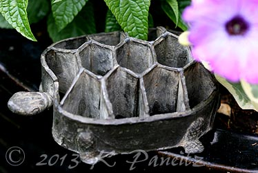 Antique Turtle Frog