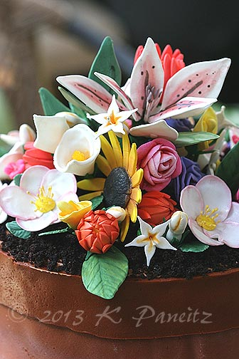 Flower Pot Birthday Cake2