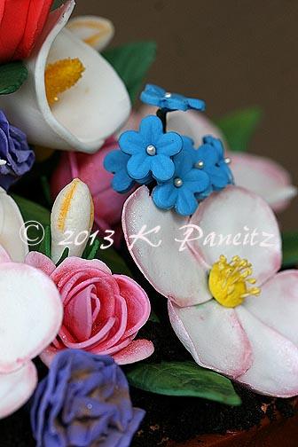 Flower Pot Birthday Cake1