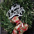 2014 Boxwood wreath