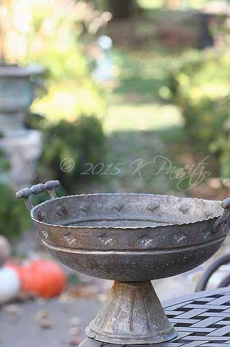 Antique Colander