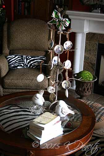 2015 Christmas Plate Tree1