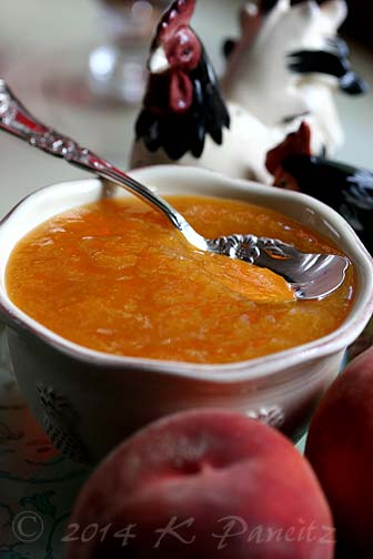Colorado peach preserves
