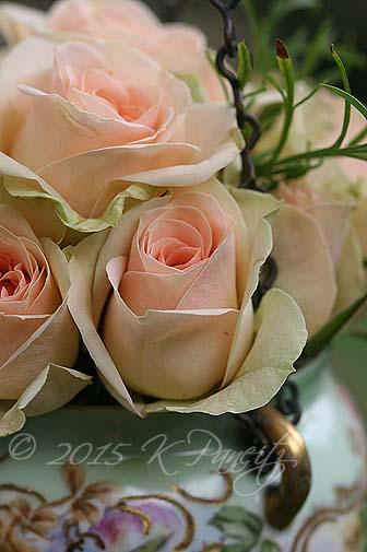 Antique Jardiniere & roses4