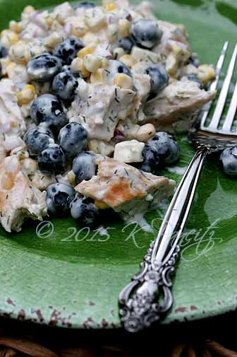 Chicken Blueberry Salad1