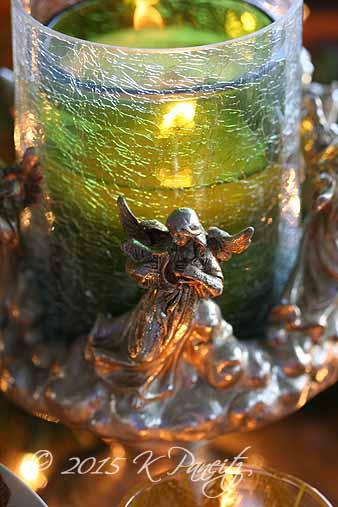 2015 Christmas candle