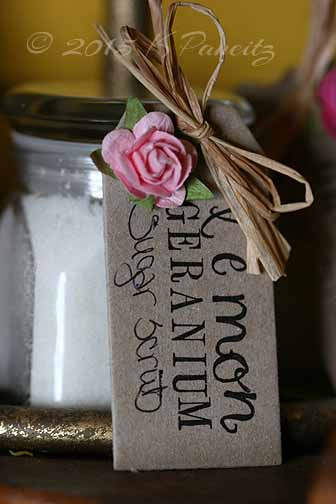 Lemon geranium sugar scrub2