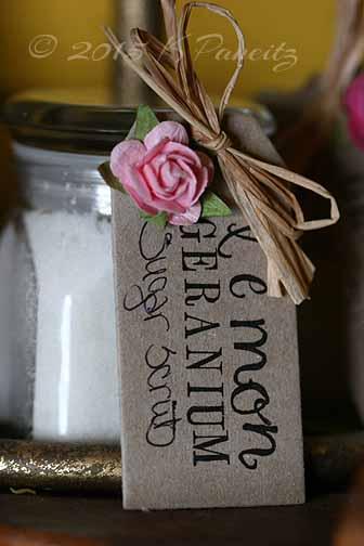 Lemon geranium sugar scrub2