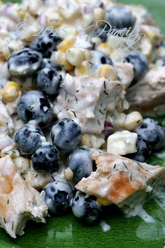 Chicken Blueberry Salad2