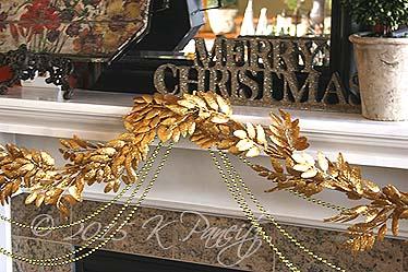 2015 Christmas Mantel Garland4