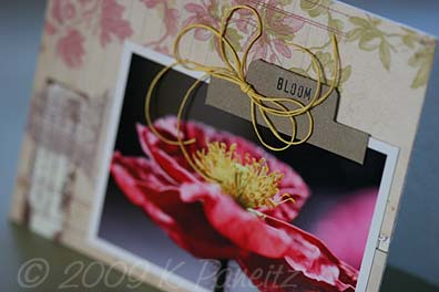 May Gardening by Letter Card